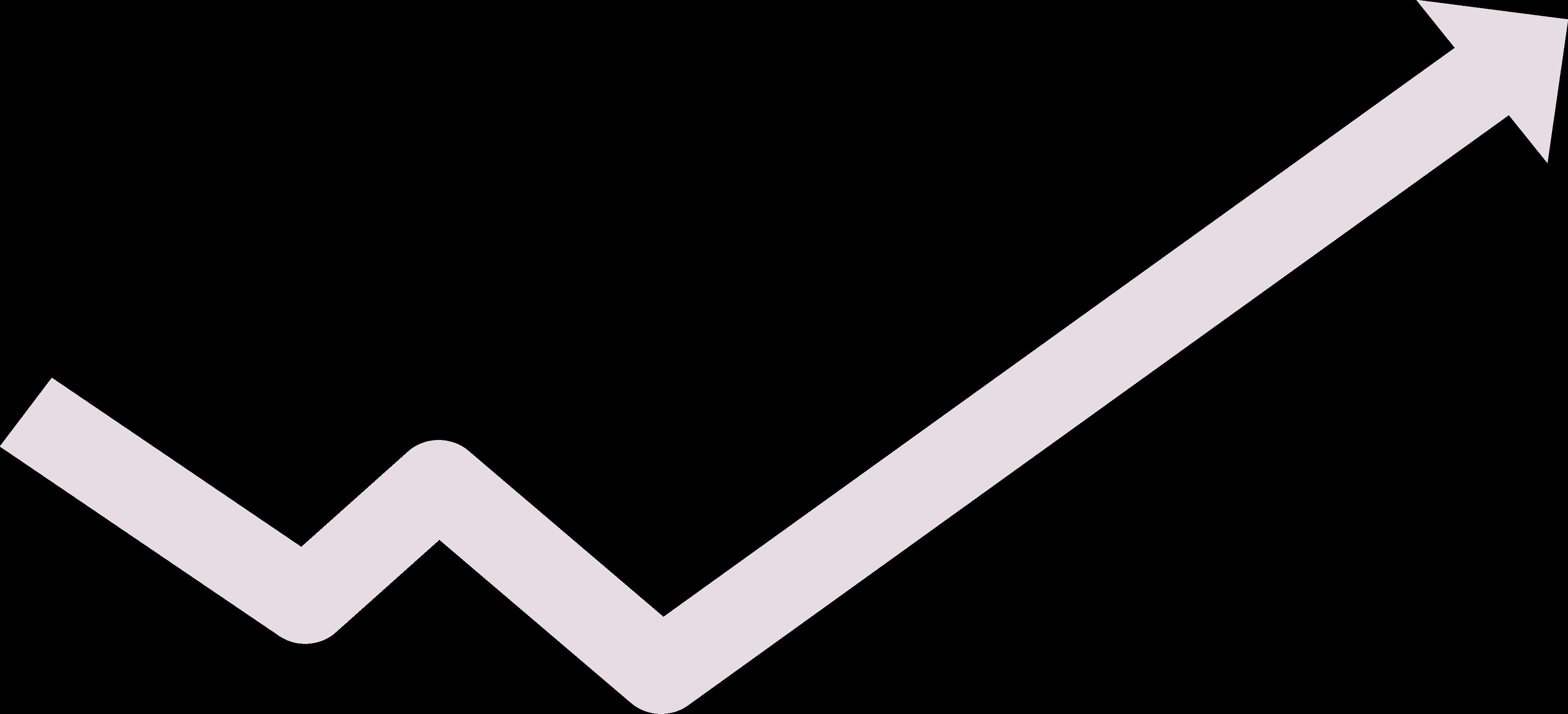 flecha simbolizando una grafica